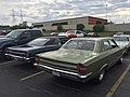 1969 AMC Rebel SST 4-door sedan in green at 2015 AMO show 6of6.jpg