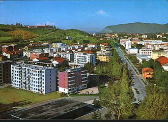 Nova Gorica - 1969 postcard of Nova Gorica