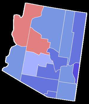 United States Senate election in Arizona, 1976 - Image: 1976 Arizona