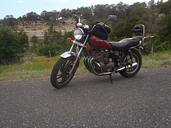 1982 XJ 650 Maxim left side view sport tourer