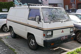 Mitsubishi Delica - 1984–1985 Mitsubishi L300 Express (SD) van (Australia)