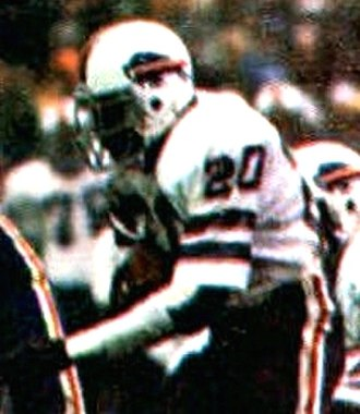 Joe Cribbs - Cribbs playing for the Bills in 1981