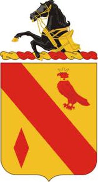 19th Field Artillery Regiment - Coat of arms