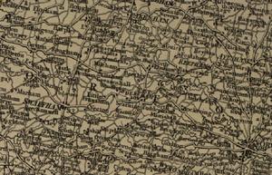 Beetley - Map of Beetley from 1806