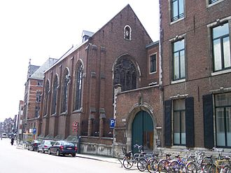 American College of the Immaculate Conception - The American College from Naamsestraat