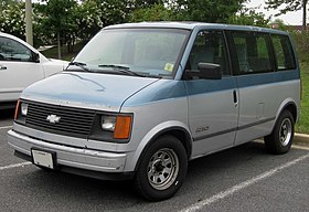 Brilliant Chevrolet Astro Wikipedia Wiring Cloud Hisonuggs Outletorg