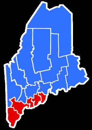 Maine gubernatorial election, 2002 - Image: 2002Maine Gubernatorial