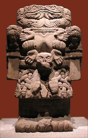 Coatlicue - Statue of Coatlicue displayed in the National Museum of Anthropology and History in Mexico City