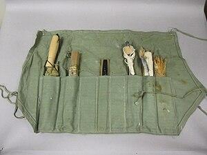 2005-58-18 Fishing Kit, Life Raft, M-552A, Interior.jpg