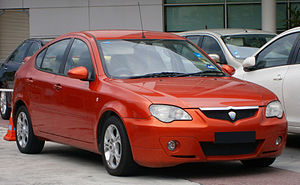 Automotive industry in Malaysia - The Proton GEN•2 is the first model to roll out of the Tanjung Malim plant.