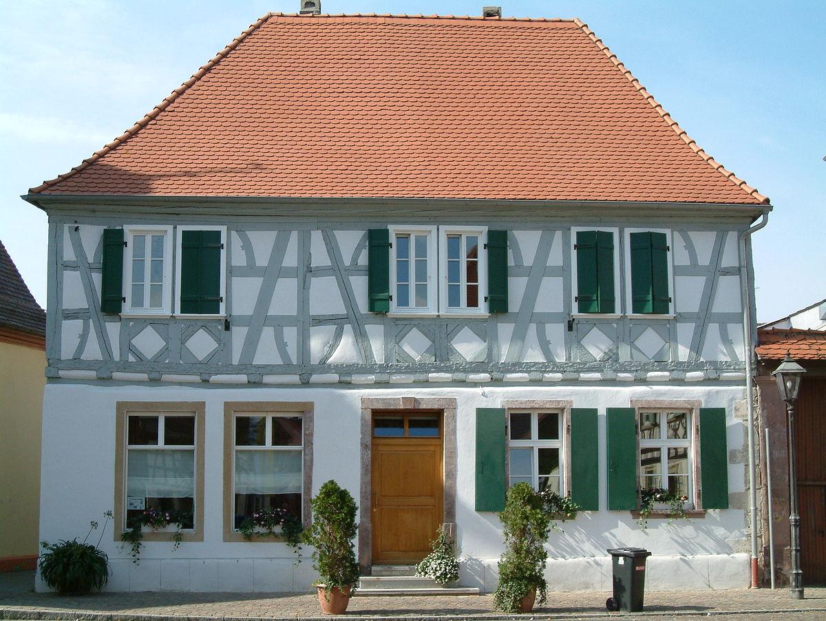 Haus Marktstraße 1 Dirmstein –