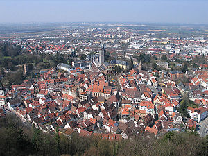 Weinheim - Panorama of Weinheim