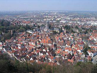 Weinheim - Panorama of Weinheim