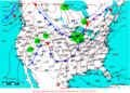 2007-04-23 Surface Weather Map NOAA.png