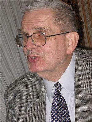 Tomas Venclova - Venclova in Warsaw, 20 March 2007