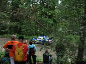 2007 Rally Finland shakedown 08.JPG
