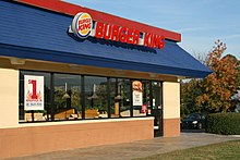 A Burger King in Durham, North Carolina