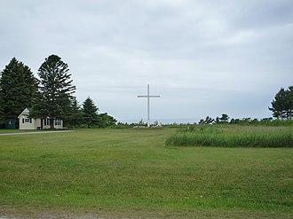 Cross Village Township, Michigan - The cross in Cross Village