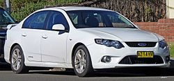 2009 Ford Falcon (FG) XR6 sedan (2010-06-29).jpg