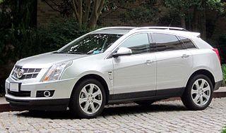 Cadillac SRX Motor vehicle