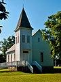 2012-04-24 Louvale, GA - Louvale Church Row - Marvin Methodist Church.jpg