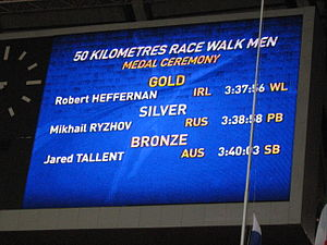 2013 World Championships in Athletics – Men's 50 kilometres walk - Image: 2013 World Championships in Athletics (August, 15) –9
