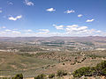"2014-06-13 12 21 05 View northwest from the summit of ""E"" Mountain in the Elko Hills of Nevada.JPG"