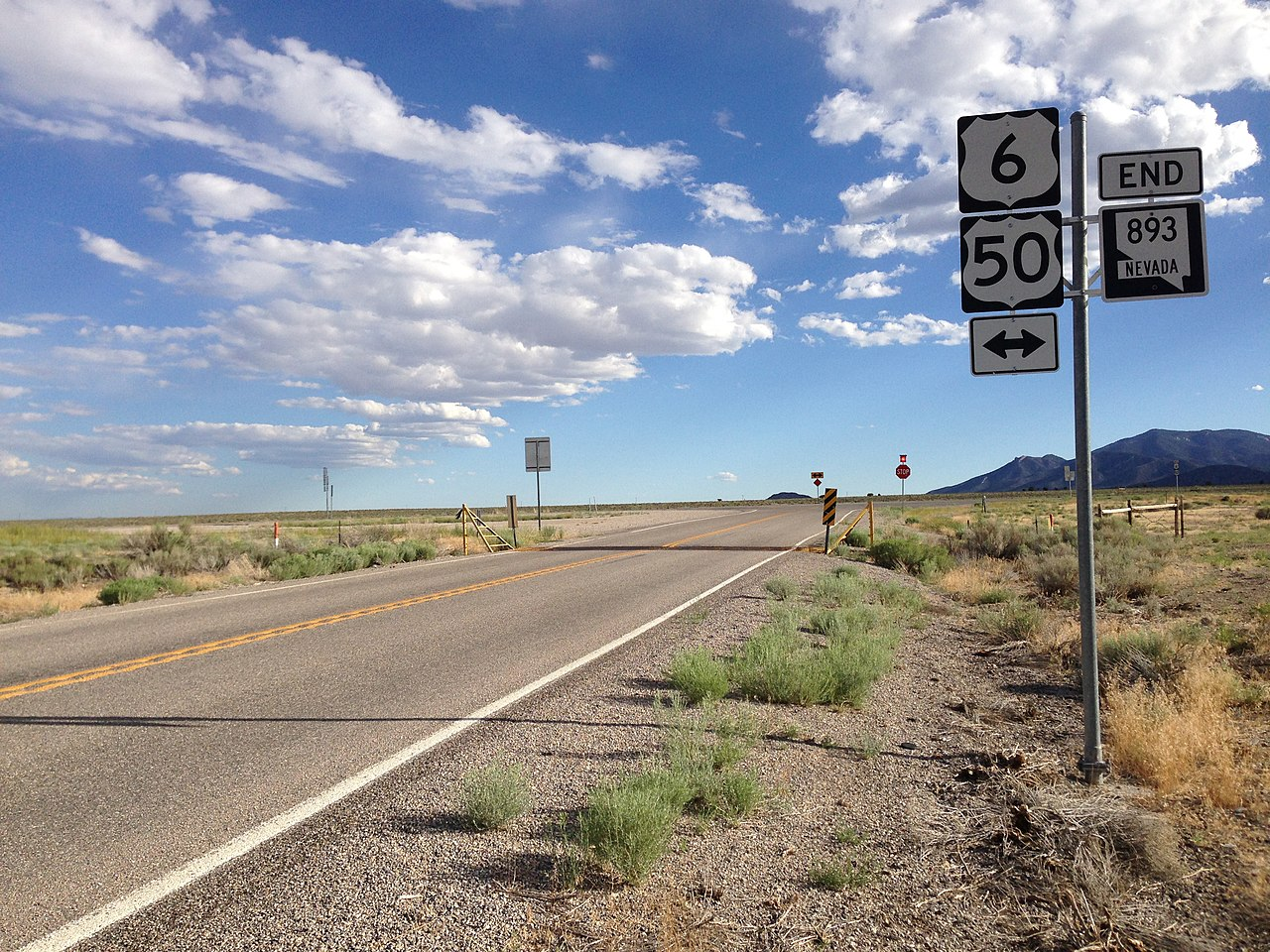 File:2014-08-09 17 32 41 View south along Nevada State ...