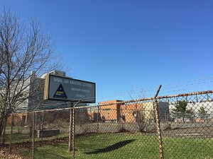 Naval Air Warfare Center Trenton - As of 2015, Naval Air Warfare Center Trenton still appeared nearly untouched by time, 18 years after closing in 1997