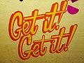 2015 191st Street IRT station tunnel Get it! Get it!.jpg