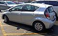 2015 Toyota Prius c (rear left), Long Island.jpg