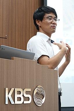 2016년 7월 22일 KBS 취재기자 김영준 강원소방 홍보담당자 직무교육 DSC03780
