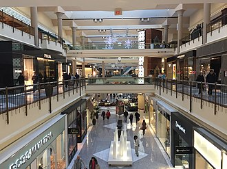 Tysons Galleria - Interior of Tysons Galleria