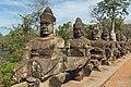 2016 Angkor, Angkor Thom, Brama południowa (08).jpg