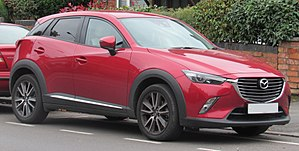 Mazda CX-3 - Mazda CX-3 (United Kingdom)
