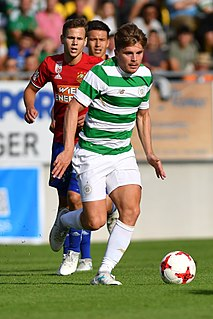 James Forrest (footballer) Scottish professional footballer