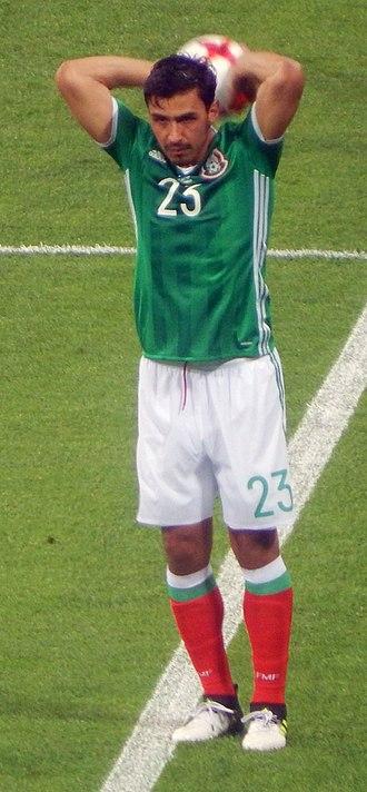 Oswaldo Alanís - 2017 Confederations Cup