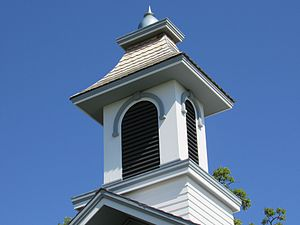 Forest Grove School No. 5 - The new cupola