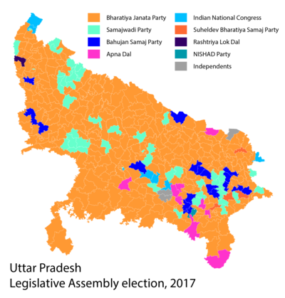 2017 Uttar Pradesh election result.png