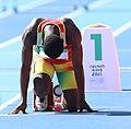 2018-10-16 Stage 2 (Boys' 400 metre hurdles) at 2018 Summer Youth Olympics by Sandro Halank–018.jpg