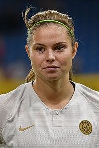 20180912 UEFA Women's Champions League 2019 SKN - PSG Signe Bruun 850 5437.jpg