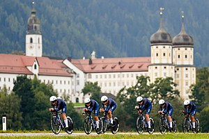 20180923 UCI Road World Championships Innsbruck Women's TTT Team Virtu Cycling DSC 6448.jpg
