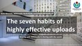 20181103 GLAMTLV2018 The seven habits of highly effective uploads.pdf