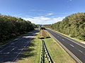 2019-10-10 14 37 52 View north along Maryland State Route 32 (Sykesville Road) from the overpass for Maryland State Route 108 (Clarksville Pike) in Columbia, Howard County, Maryland.jpg