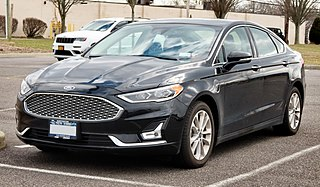 Ford Fusion (Americas) Motor vehicle