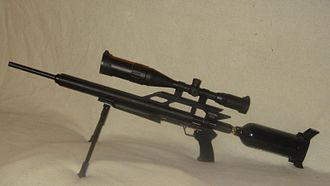 Air gun - Airforce Condor, one of the most powerful PCP air rifles on the market