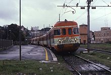 An FR4 train at Albano Laziale , 1998.