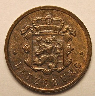 Luxembourgish franc - Image: 25 centimes Luxembourgish franc (1947) front
