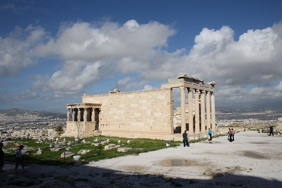 2678 - Athens - Erechtheum - Southern flank - Photo by Giovanni Dall'Orto, Nov 11 2009
