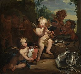 Allegory of the silversmith's trade